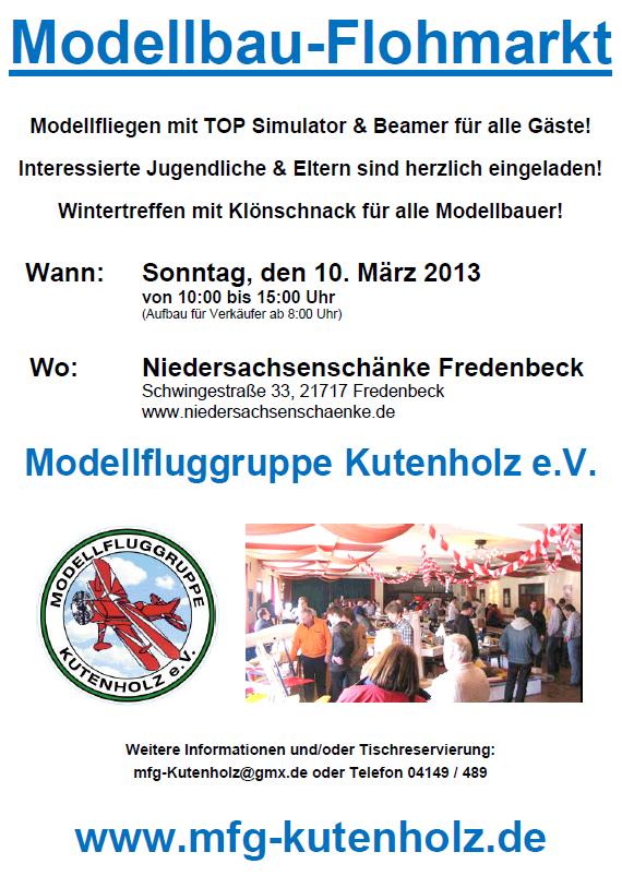 Modellbau-Flohmarkt 10.03.2013