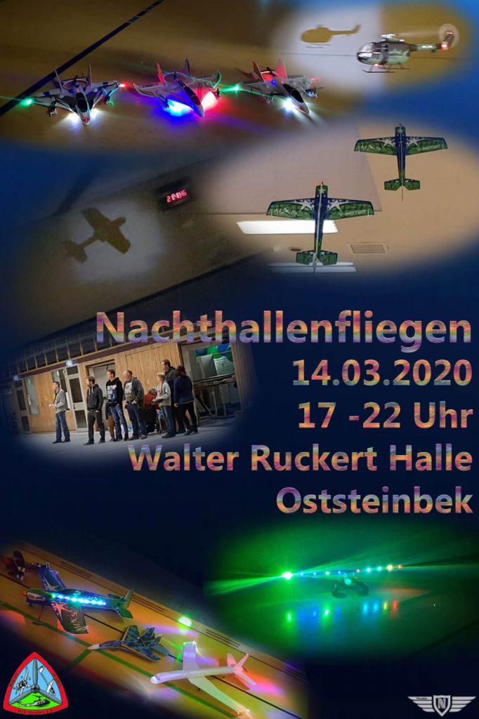 Nachthallenfliegen 14.03.2020